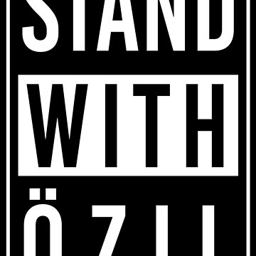 Stand With Ozil by radvas
