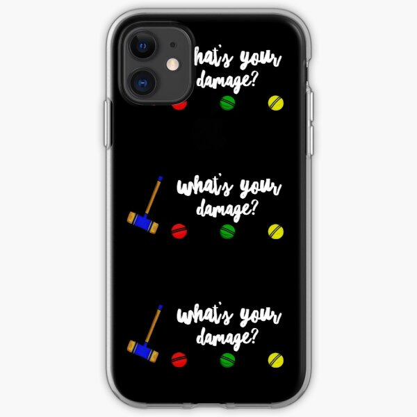 What's Your Damage? iPhone Soft Case