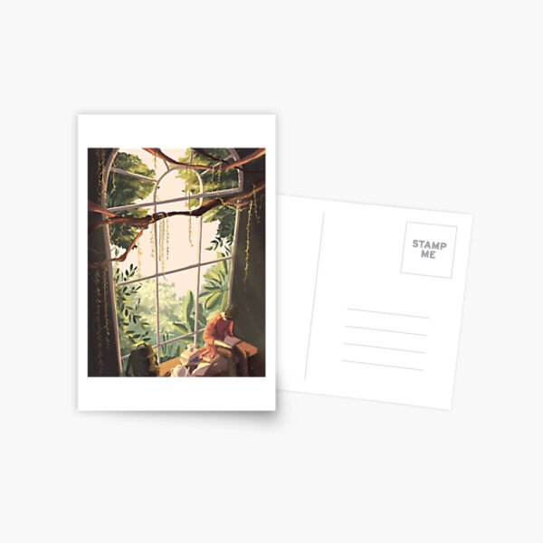 a fantasy Postcard