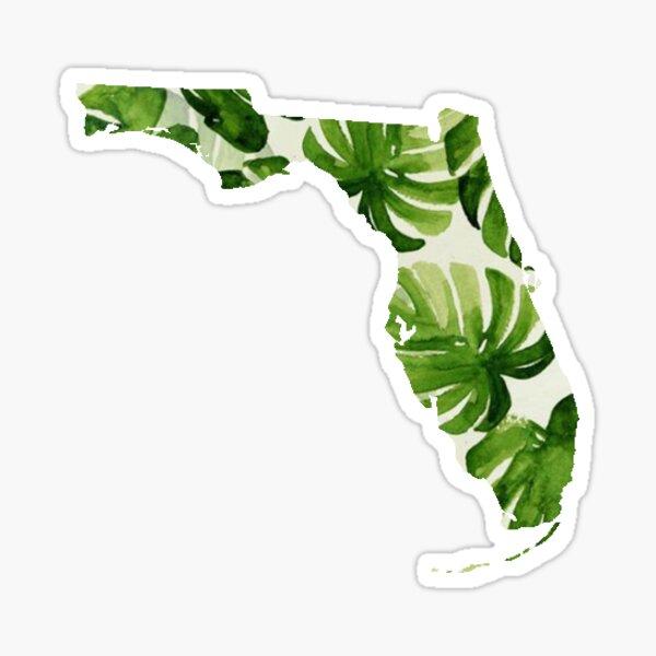 Florida Palm Sticker