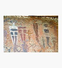Barrier Canyon Pictographs Photographic Print