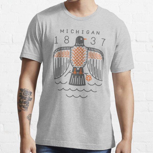 Michigan American Robin Crest Essential T-Shirt