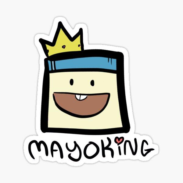 Mayoking Mini Sticker