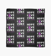 Hope, Love, Cure - Alzheime's Awareness Scarf