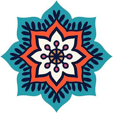 Mandala Yoga and Reiki Symbol by Noto57