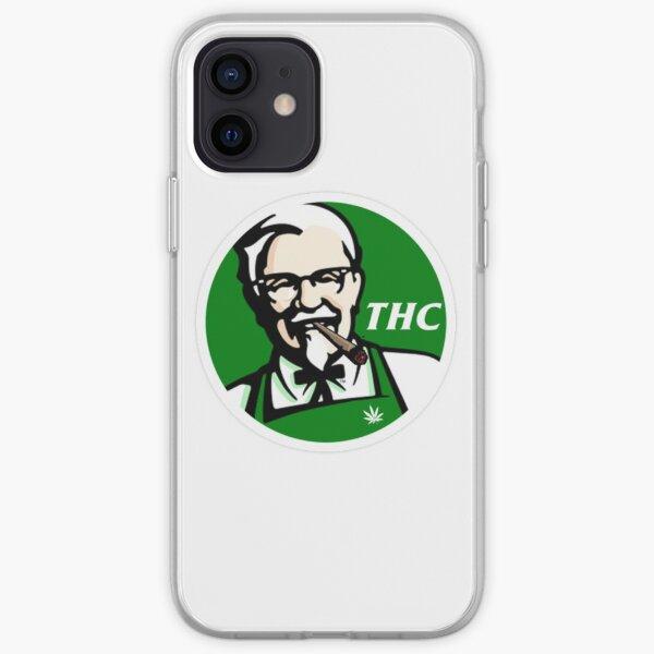 KFC PARODY THC Weed. Funda blanda para iPhone