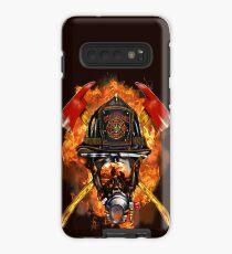 Feuerwehrmann die anonymen Held-Neuheits-Geschenke. Hülle & Klebefolie für Samsung Galaxy
