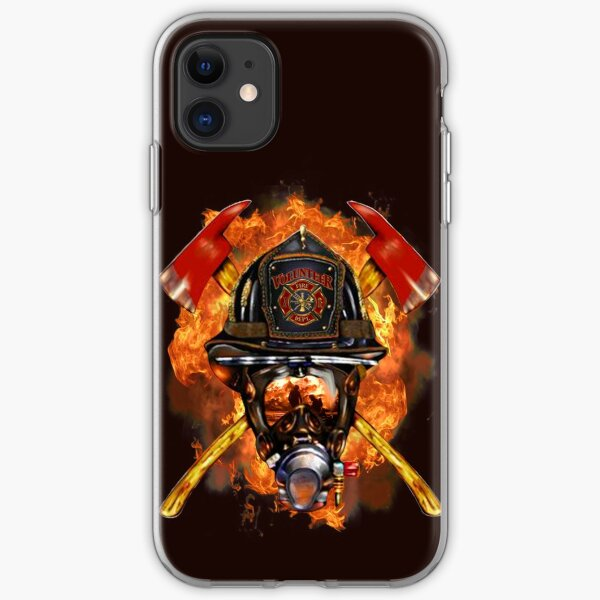 Firefighter The Anonymous Heroes Novelty Gifts. iPhone Soft Case
