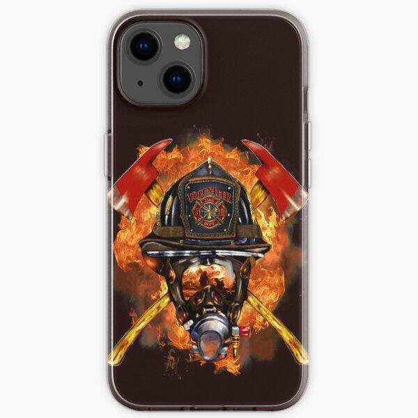 Pompier Les cadeaux de nouveauté des héros anonymes. Coque souple iPhone