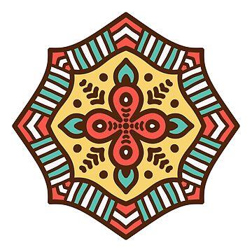Mandala Yoga And Reiki Design by Noto57