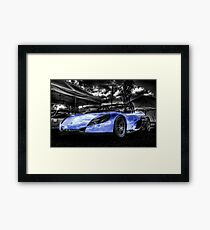 Blue Spider Framed Print