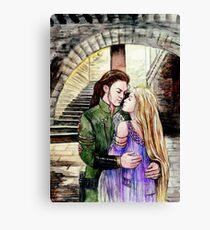 Elin and Coren Canvas Print