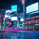 Neo Tokyo - Shibuya Crossing by Guillaume Marcotte