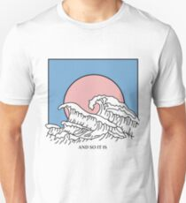 And So It Is Wave Slim Fit T-Shirt