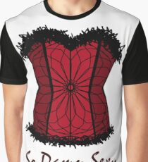 Red Corset Graphic T-Shirt