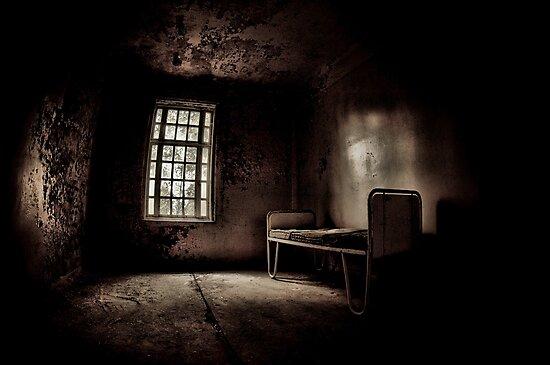 Bed In The Corner by geirkristiansen