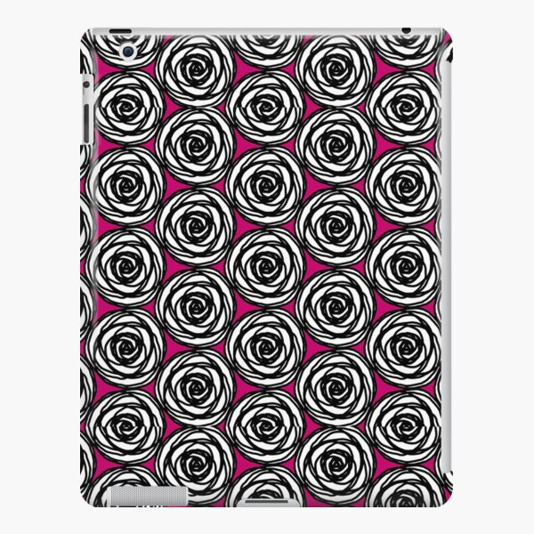 Black and White Rose iPad Snap Case