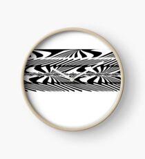 Liner tribal Clock