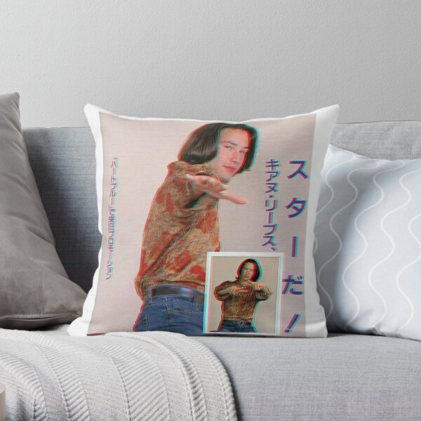 KeanU ReEves Throw Pillow