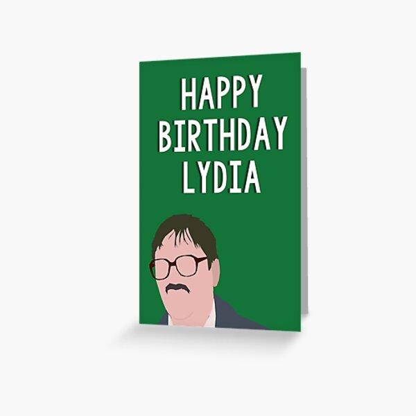 lydia. Greeting Card