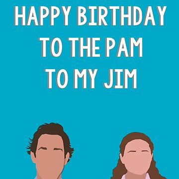 pam / jim III by glitteredgold