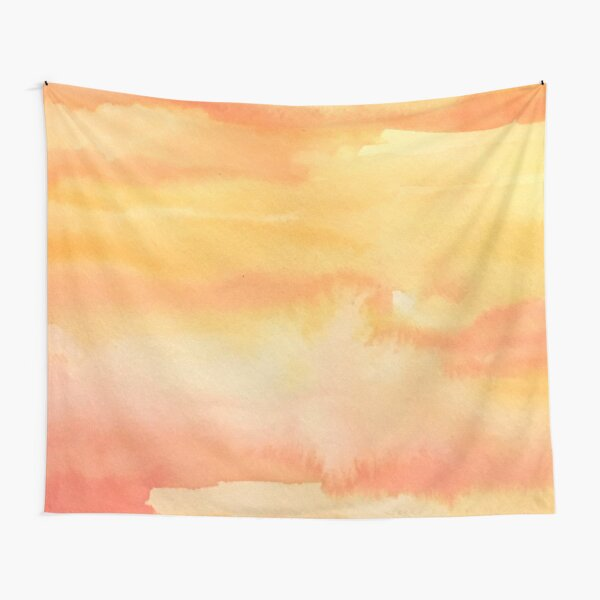 Apricot Sunset Tapestry