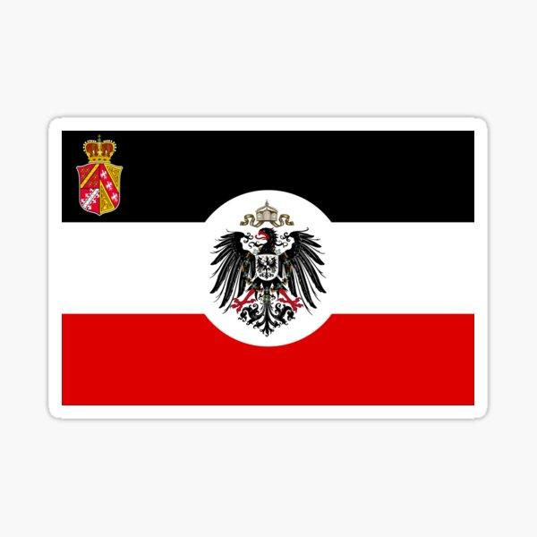 Drapeau impérial d'Alsace-Lorraine Sticker