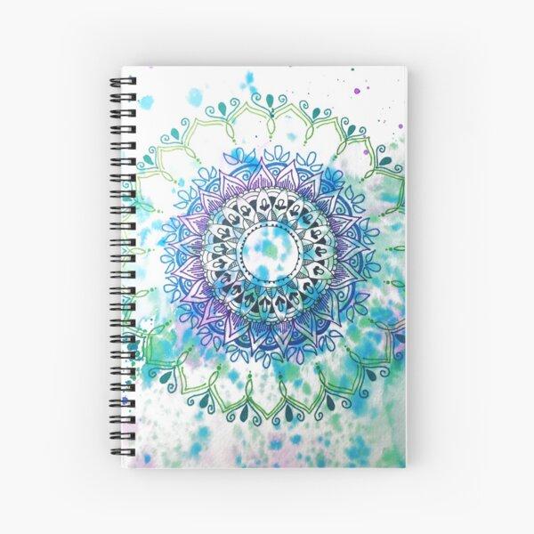 Mandala Splash Spiral Notebook