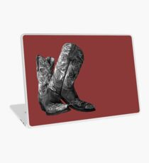 Knockout Cowgirl Boots Laptop Skin