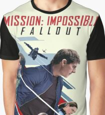 Mission Impossible Fallout Movie Graphic T-Shirt