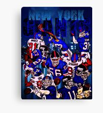 New York Giants Legends  Canvas Print