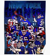 New York Giants Legends  Poster