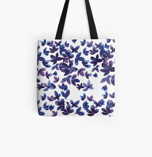 Born to Butterfly All Over Print Tote Bag