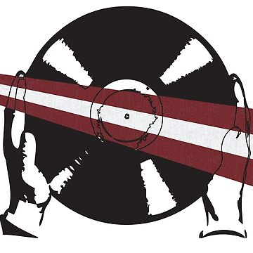 Latvian Flag Vinyl by McFrys