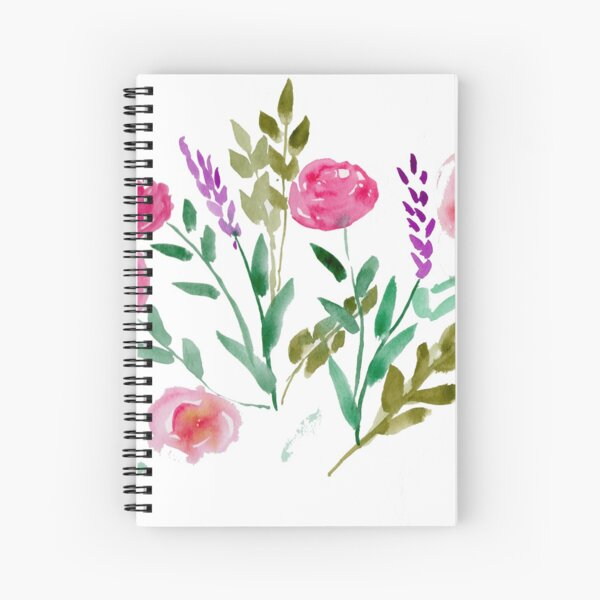 Country Bouquet Spiral Notebook