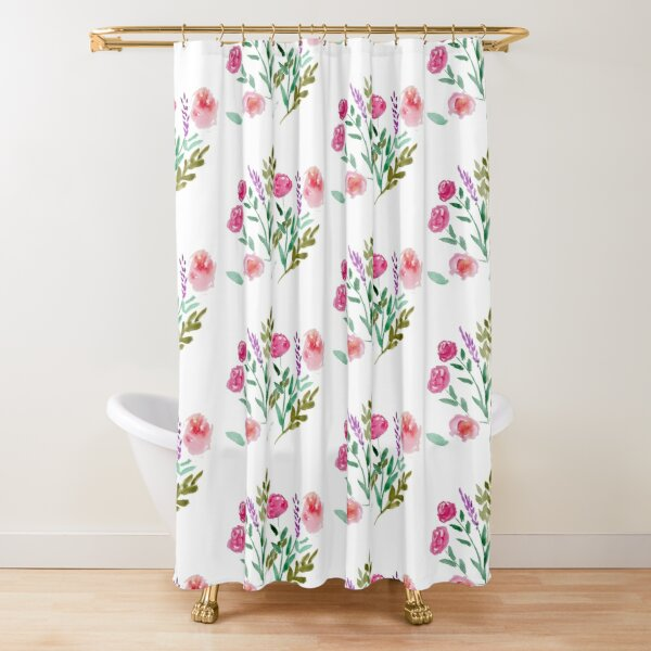 Country Bouquet Shower Curtain