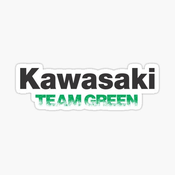 Kawasaki team green  Pegatina