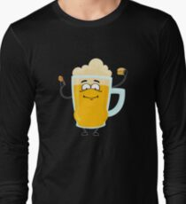 beer belly Long Sleeve T-Shirt