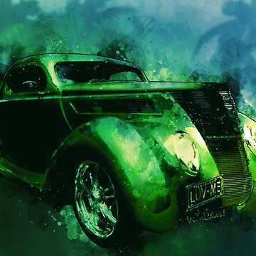 37 Ford Street Rod Luv Me Green Meanie! by ChasSinklier
