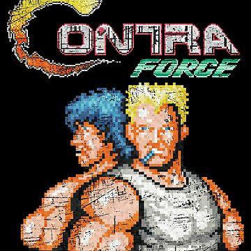 Force Vintage Heros Pixels by Lidra