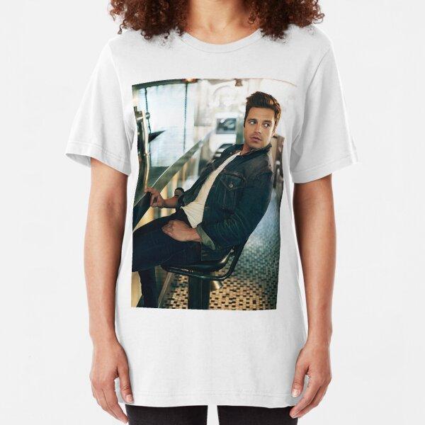 Sebastian Watercolour Slim Fit T-Shirt