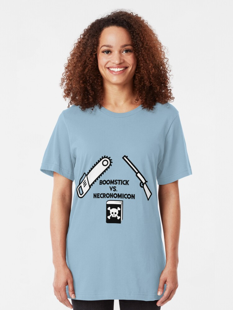 Alternative Ansicht von Ash vs. Evil dead Slim Fit T-Shirt