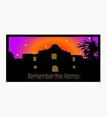 Remember the Alamo Photographic Print