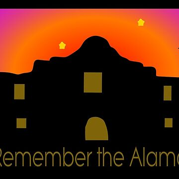 Remember the Alamo by elledeegee