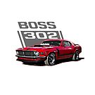 Boss 302 Mustang '70 red by CoolCarVideos