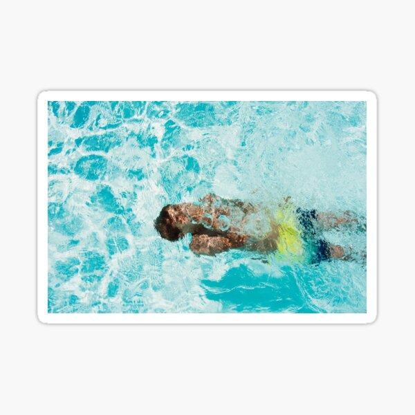 Swim under the water Sticker
