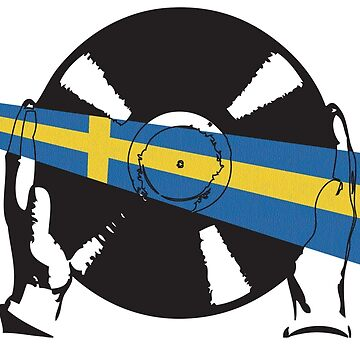 Sweden Flag Vinyl by McFrys