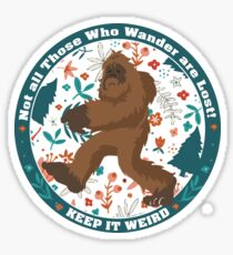 Bigfoot Sticker