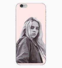 Black and white Billie Eilish iPhone Case