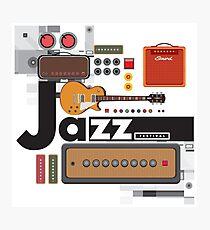 I love jazz 1 Photographic Print